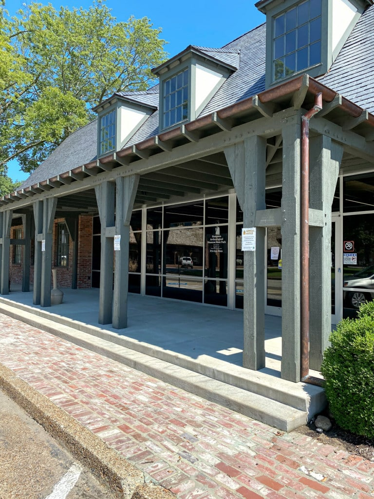 Hampson Archeological Museum State Park in Wilson, Arkansas