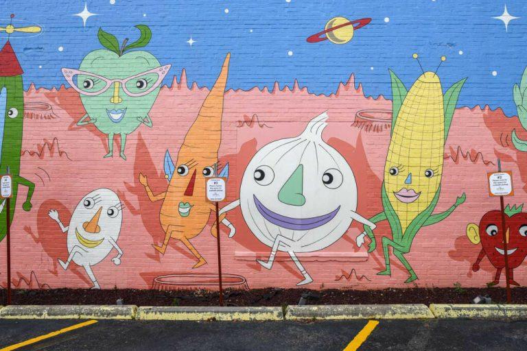 Street Murals in Little Rock, Arkansas